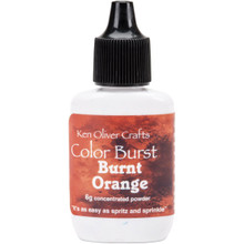 Ken Oliver Crafts Color Burst - Burnt Orange - Concentrated Microfine Pigment Powder