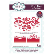 Sue Wilson Festive Collection - Snowflake Gemini Craft Die CED3063