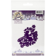 Yvonne Creations Fairy Magical Winter Die, Purple