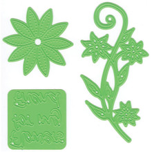 Joy! Crafts Cutting Embossing and Embroidery Die, Flowers for A Friend