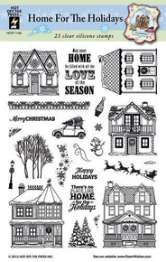 Hot Off The Press - Home for the Holidays Stamp Set