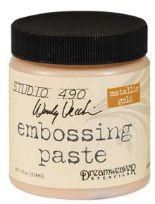 Dreamweaver Metallic Gold Embossing Paste