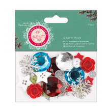 Papermania Bellissima Christmas Charm Pack - 32 Pieces