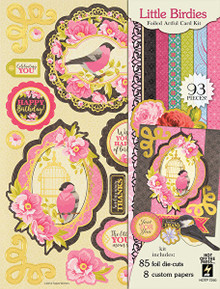 Hot Off The Press - Little Birdie Artful Card Kit 7290