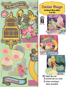 Hot Off The Press - Center Stage Artful Card Kit 7291