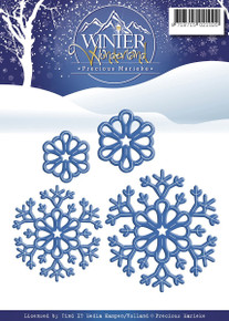 Precious Marieke Snowflakes Winter Wonderland Die Find It Trading PM10051