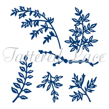 Tattered Lace RETIRED Leaf Branches- D245- Die