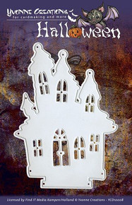 Yvonne Creations Haunted House Halloween Die