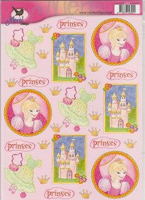 Merel Design Princess Scissor-Cut Images 2392