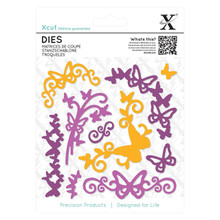 DoCraft  Xcut - Butterfly Flourish Decorative Die (10 Pack) XCU503303