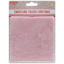 Nellie's Choice Picture Embossing Folder, 5-Inch by 5-Inch