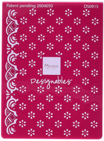 Marianne Design  Embossing/Cutting Folders, Anja's Flower