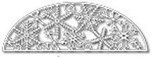 Tutti Designs Thin Metal Die - Ice Crystal Arch - Tutti-133