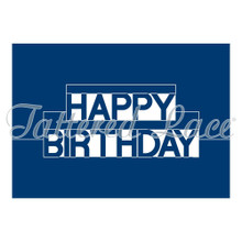 Tattered Lace Pop Up Word - Happy Birthday Cutting Die Set ETL218