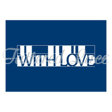 Tattered Lace Pop Up Word - With Love Cutting Die Set ETL219
