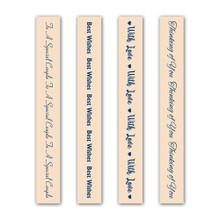 Tattered Lace The Sentiment Collection Set 8 Embossing Folder Set EF138
