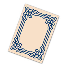 Tattered Lace Inverse Flourish Avery Embossing Folder ETL194