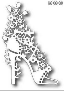 Tutti Designs Floral Shoe Cutting Die TUTTI-185
