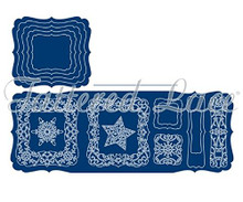 Tattered Lace Craft A Card - Snowflake Cutting Die Set ETL328