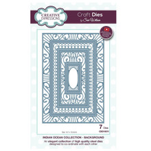Craft Die CED10011 Sue Wilson Indian Ocean Collection - Background