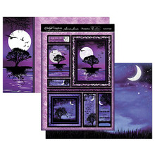 Hunkydory Twilight Kingdom Mystical NightsTopper Set Card Kit