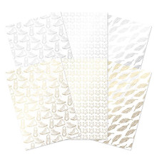 Hunkydory Delicate Lace Luxury Foiled A4 Acetate Sheets
