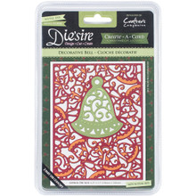 Die'Sire Create-A-Card Cutting & Embossing Die-Decorative Bell