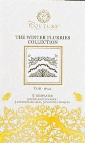 Create and Craft Couture Winter Flurries Collection TRIM 16745