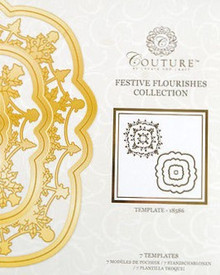 Create and Craft Couture Die Collection in Festive Flourishes 18586