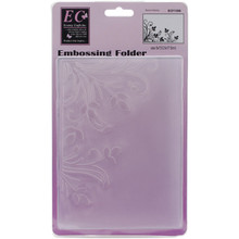 Ecstasy Crafts Burst of Spring Embossing Folder, 5' by 7'