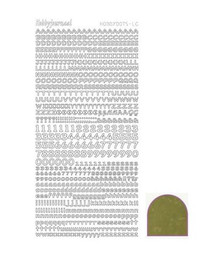 Find It Trading Hobby Dots Mini Alphabet -Mirror GOLD STDMLC7