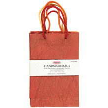 Ultimate Crafts Handmade Gift Bags Set of 3 Bags in RIch Baautiful Colors