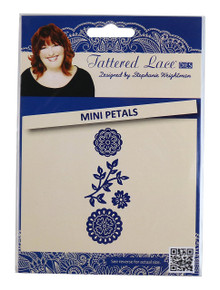 Tattered lace Tattered Lace Mini Petals, Silver