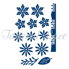 Tattered Lace Spring Petals Cutting Die TLD0177
