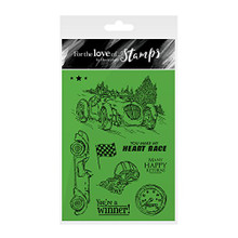 Hunkydory Crafts For the Love of Stamps - Classic Cars FTLS198
