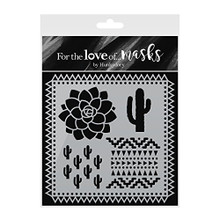 Hunkydory Crafts For the Love of Masks - Prickly Plants - FTLM200