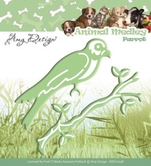 Find It Trading Amy Design Animal Medley Die-Parrot