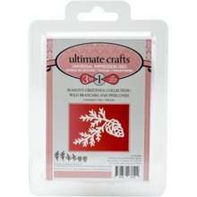 Ultimate Crafts Die-Wild Branches & Pinecones