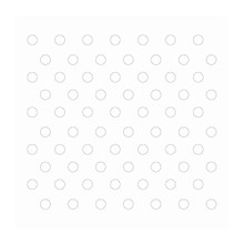 Couture Creations 3D Foam Dots 152/Pkg-White