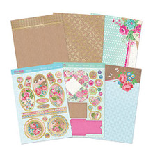Hunkydory Florabunda Floral Delights Kit - with Matt-tastic Adorable Scorable