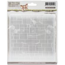 Precious Marieke Rustic Christmas Embossing Folder PMEMB10005