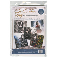 Debbi Moore Enchantment Cards Made Easy Kit-Gothic Christmas