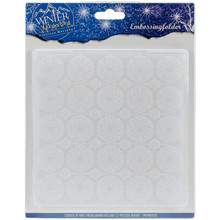 Precious Marieke Winter Wonderland  Embossing Folder, Clear