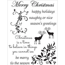Be Merry And Classic Stamps 11/Pkg