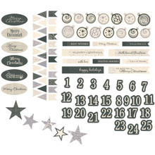 Be Merry And Classic Ephemera 93/Pkg-