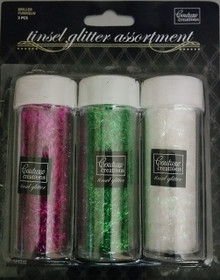 Be Merry And Bright Glitter Vials 3/Pkg-