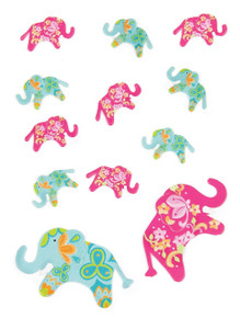 Jolee's Boutique Mini Elephants Scrapbooking Embellishment