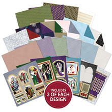Hunkydory Crafts Craft Stack - An Art Deco Christmas Card Kit STACK011