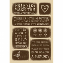 Momenta Weathered Stickers-Friends