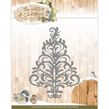 Precious Marieke the Nature of Christmas - Christmas Tree - Cutting Dies